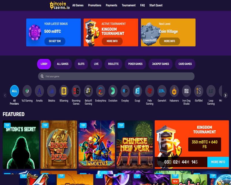 Crypto casino review