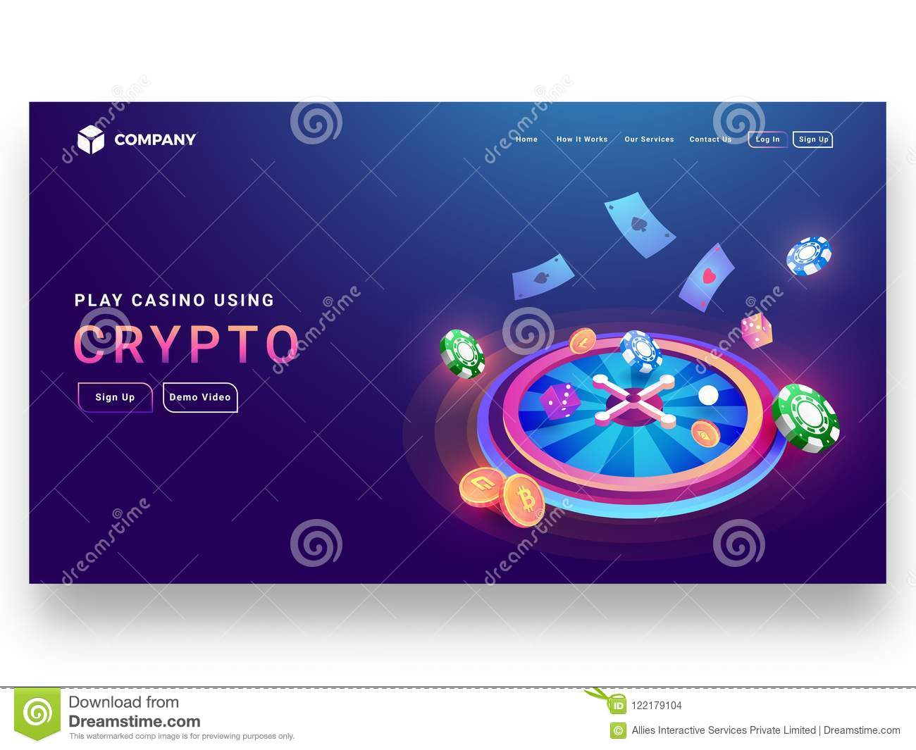 Crypto casino game