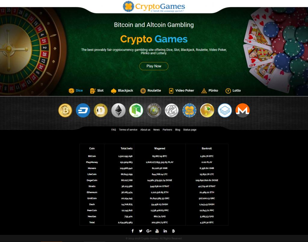 Crypto casino with deposit bonus